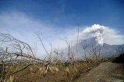 火山灾害 库存照片