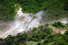 火山的区域 免版税图库摄影