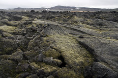 火山的区 免版税图库摄影