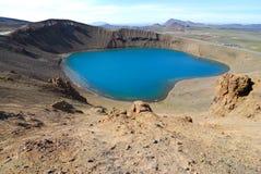 火山的区 免版税库存图片