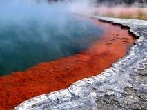 火山的奇迹 免版税库存图片