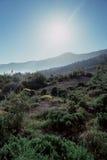 火山的山脉2 库存照片