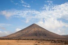火山的山 免版税库存图片