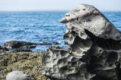 火山的岩石 免版税库存图片