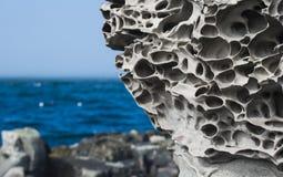 火山的岩石 免版税图库摄影