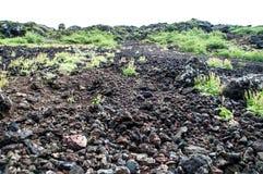 火山的广场 库存图片