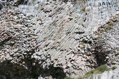 火山的教育-岩石 免版税库存图片