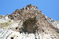 火山的教育-岩石 库存图片