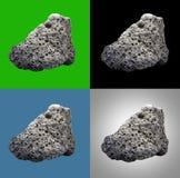 火山的熔岩石头 免版税图库摄影