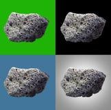 火山的熔岩石头 库存图片