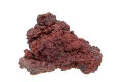 火山的石头 库存照片