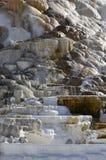 火山的矿物形成 图库摄影