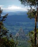 火山的谷 免版税库存照片