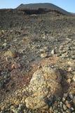 火山的风景在拉帕尔玛岛 加那利群岛tenerife 西班牙 库存图片