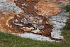 火山的水开头 免版税库存照片