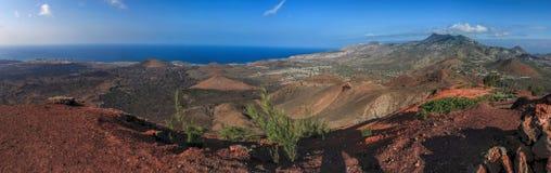 火山的fumerole 库存图片