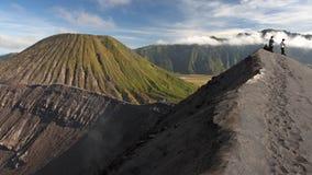 火山的lanscape 库存照片