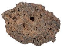 火山肯尼亚的岩石 库存照片