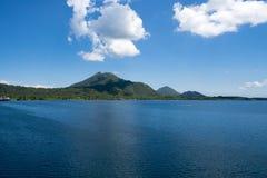 火山腊包尔,巴布亚新几内亚 免版税库存图片