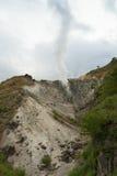 火山运动 库存照片