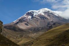 火山钦博拉索山 库存照片