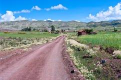 火山马拉瓜火山口在玻利维亚 库存图片