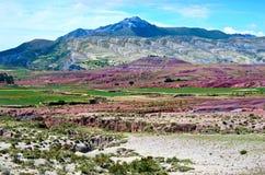 火山马拉瓜,玻利维亚火山口  库存图片