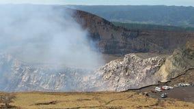 火山马萨亚NP,尼加拉瓜 免版税库存图片