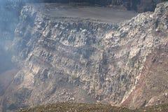 火山马萨亚NP,尼加拉瓜 库存照片