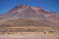 火山,阿塔卡马沙漠,智利 库存图片