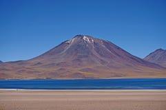 火山,阿塔卡马沙漠,智利 免版税库存图片