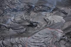 火山活动,夏威夷,美国 免版税库存照片