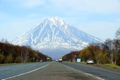 火山 免版税库存照片