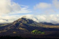 火山Batur 库存图片