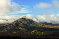 火山Batur 库存照片