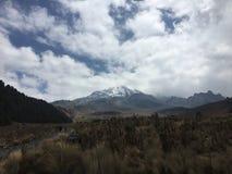 火山Citlaltépetl奥里萨巴山 库存图片