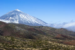 火山El Teide   库存照片