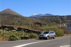 火山El Teide 免版税图库摄影