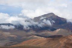 火山Haleakala国家公园毛伊 免版税库存图片