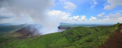 火山masaya 免版税库存图片
