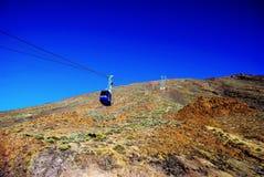 火山Pico del泰德峰El泰德峰国家公园,特内里费岛,加那利群岛,西班牙 图库摄影