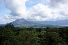 火山Poas,哥斯达黎加 库存图片