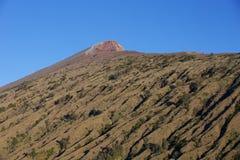 火山Rinjani,山顶道路 免版税库存照片