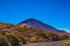 火山Teide 库存图片