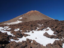 火山Teide 免版税库存图片