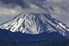 火山Vilyuchinsky 堪察加,俄国 库存图片