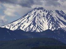 火山Vilyuchinsky 堪察加,俄国 免版税库存图片
