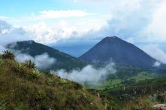 火山Yzalco,萨尔瓦多 库存图片