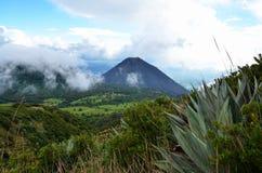 火山Yzalco,萨尔瓦多 免版税库存照片