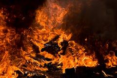 火愤怒 免版税图库摄影